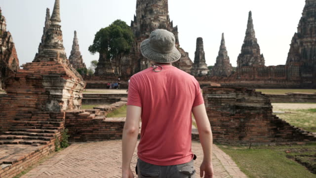 exploring thailand - tempio video stock e b–roll
