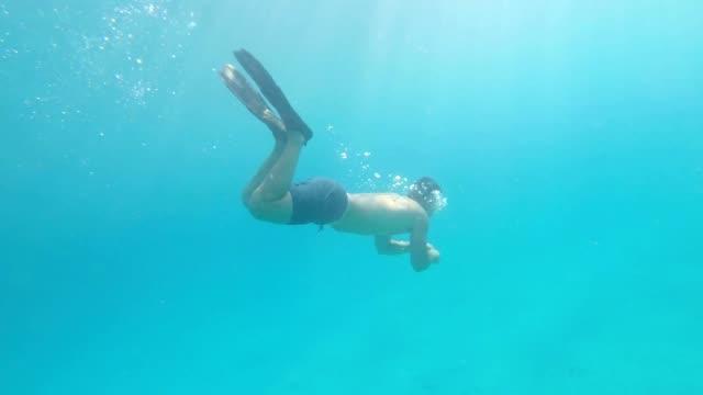 Erkunden die Unterwasserwelt – Video