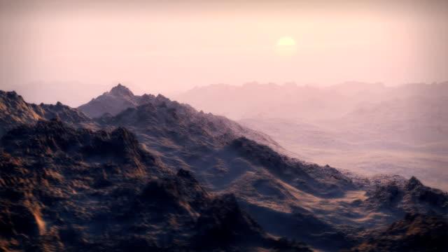 snow mountains wilderness glaciers zu den sonnenaufgang winter luftaufnahme der überführung abenteuer - eisklettern stock-videos und b-roll-filmmaterial