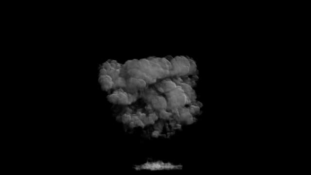 explosion material video