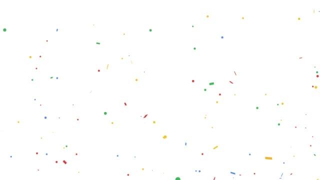 explosion of confetti