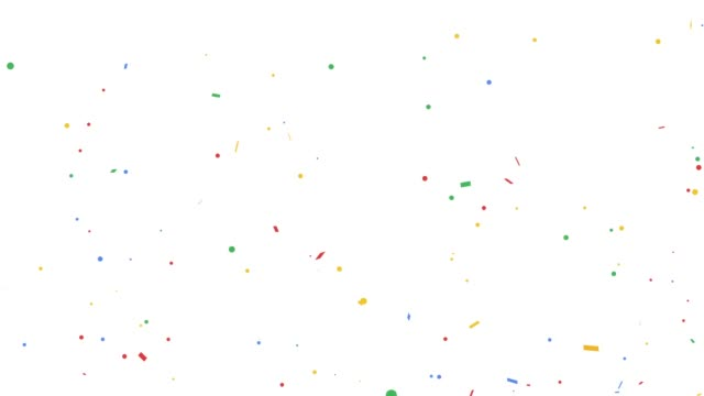explosion of confetti - trasparente video stock e b–roll