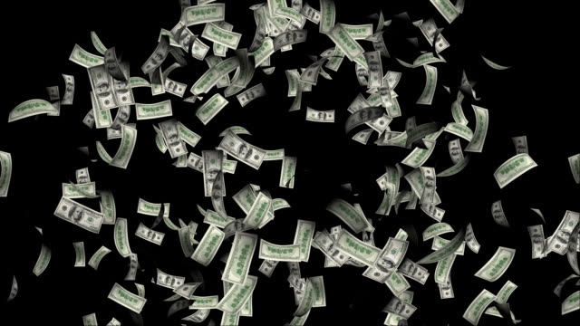 Explosion of Dollars with Alpha explosion of one hundred dollar bills flying around. with alpha. paper currency stock videos & royalty-free footage