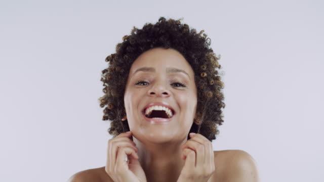 vídeos de stock e filmes b-roll de express your beauty - beleza natural
