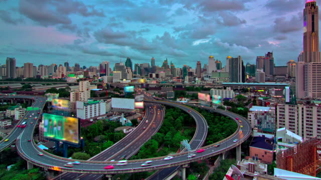 Expressway and Highway Aerial View video