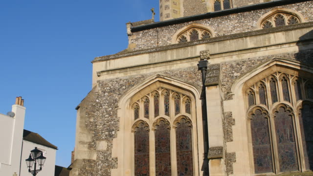 Exterior Of St Mary's Church In Henley-On-Thames video