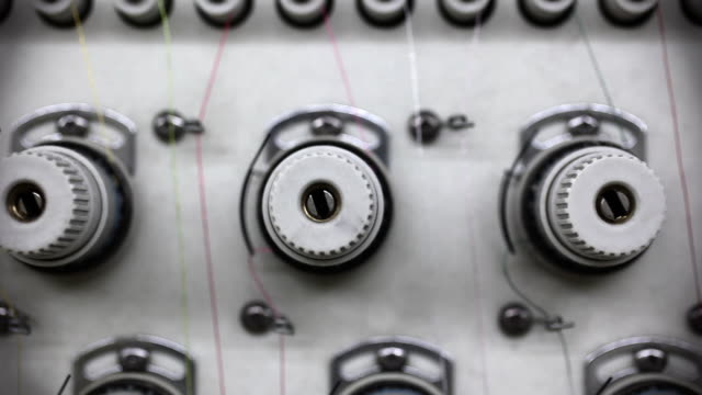 Extreme Close Up of Thread Spools video