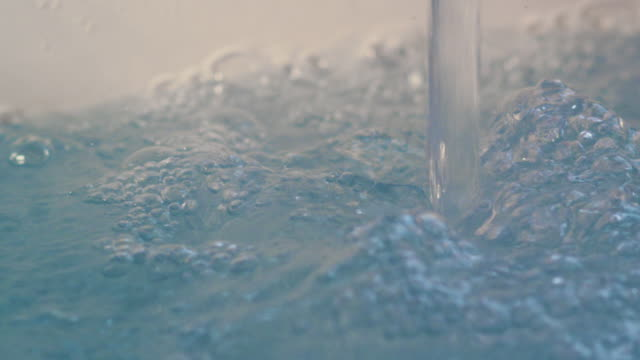 BATH WATER Extreme Close Up