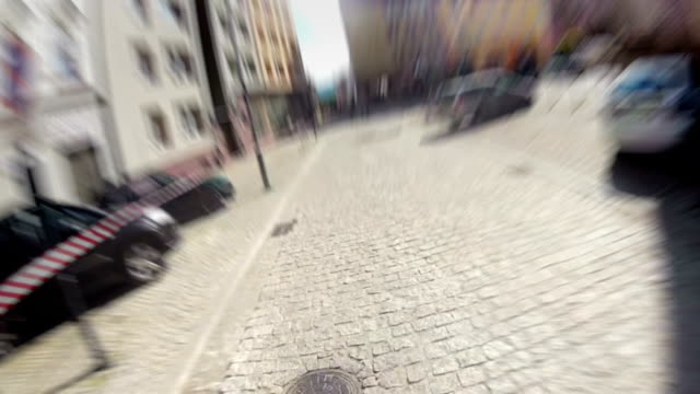 Extreme downhill biking in the city video