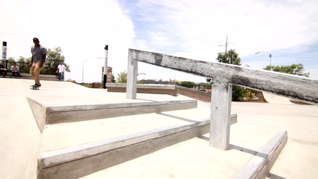 Extreme Skateboarding Trick In Skatepark video
