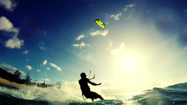 Extreme Sports Kite Surfing Concept video