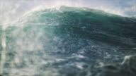 istock Extreme stormy rough sea 882229368