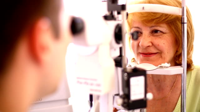 Optometrist stock videos
