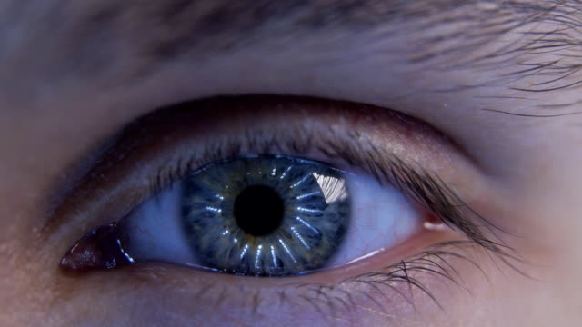 Eye focusing video