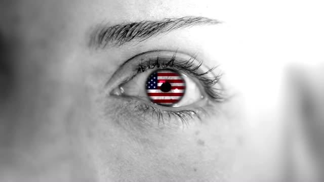 USA Eye. HD video