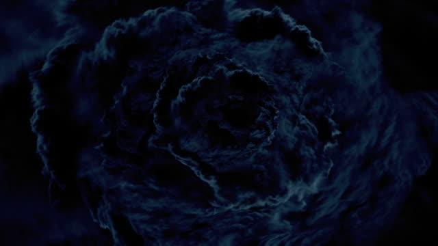 eye of a cyclone - lightning 個影片檔及 b 捲影像