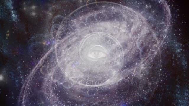 eye of god - onirico video stock e b–roll