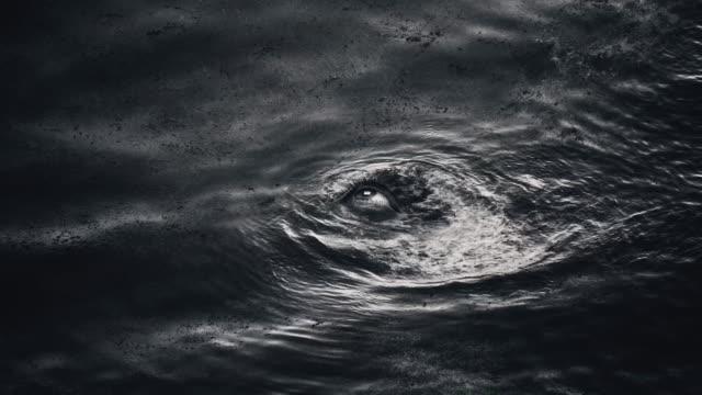 eye of ocean - сюрреалистический стоковые видео и кадры b-roll