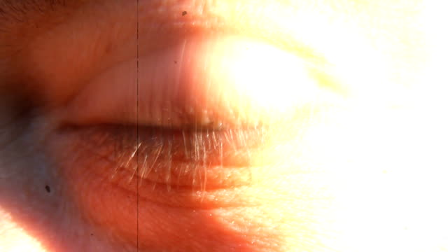 eye retro style video