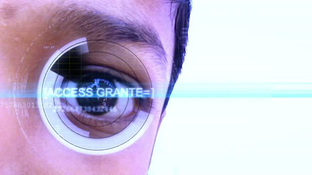 Eye Scan video