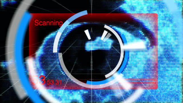 Eye Scanner video