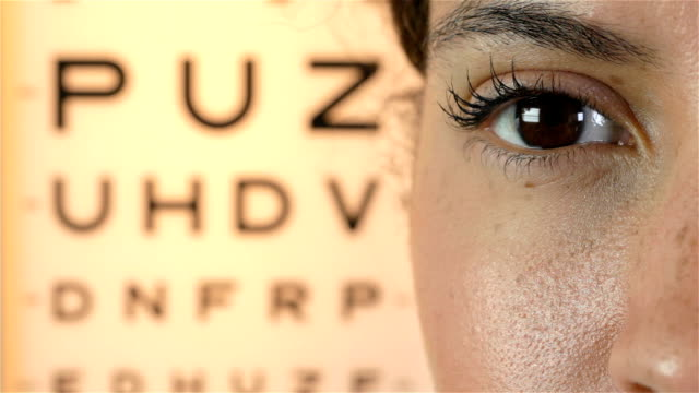 Eye test video