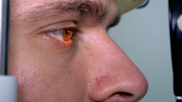 vidéos et rushes de diagramme de le œil essai vision - rétine
