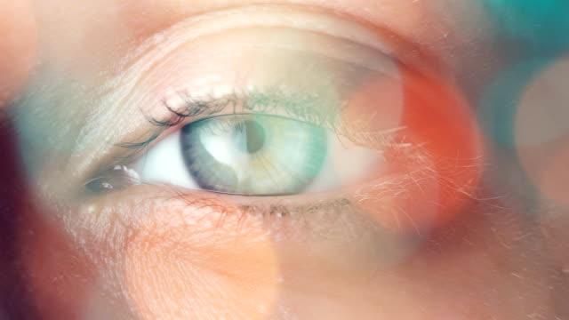 Eyeball Extreme Close up video