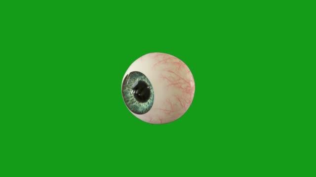 Eyeball green screen motion graphics