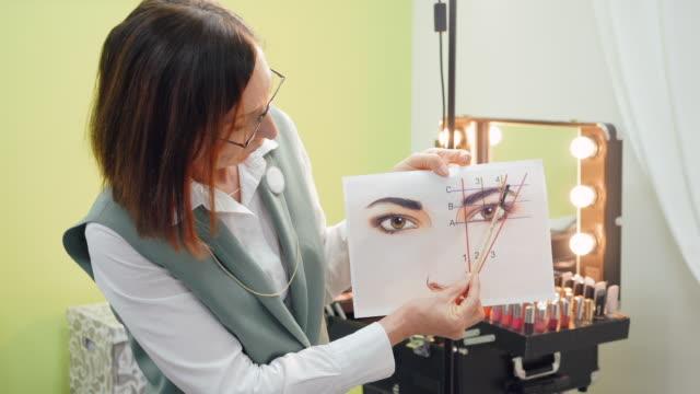 Eyebrows Modeling Tutorial Course at Visage School - vídeo