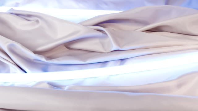 Fabric textile material motion concept video