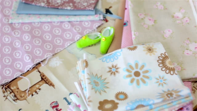 Fabrics for handicraft video
