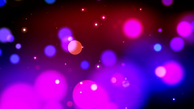 Fabulous Colorful Light Flashes & Sparkles video