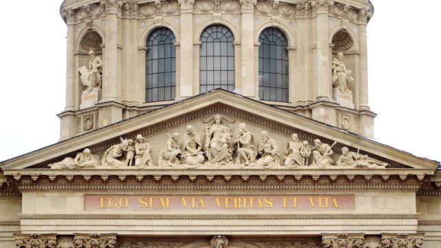 Facade of the Basilica of Saint Istvan Budapest video