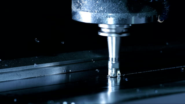 Face Milling Process (Super Slow Motion) video