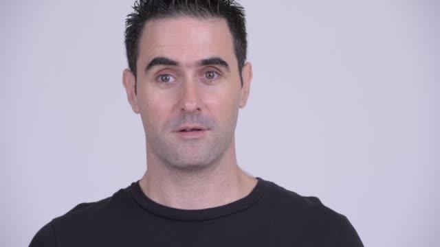 Cara do homem considerável - vídeo