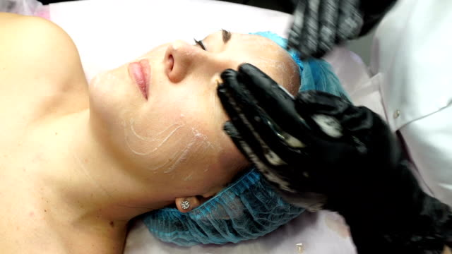 Face preparation for cosmetic procedure video