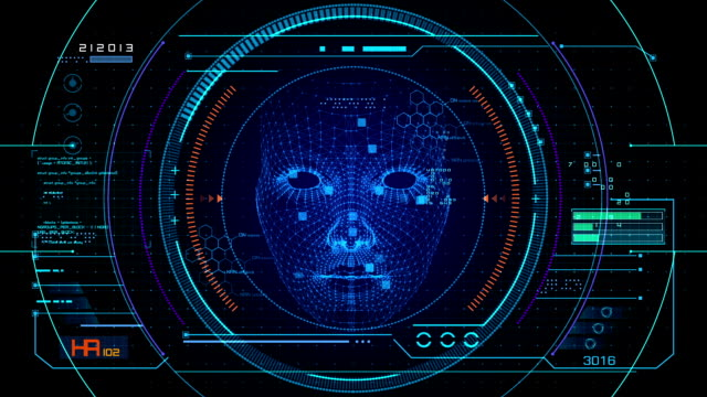 Face recognition User interface Motion graphic presents Face recognition User interface,Loopable. medical scanner stock videos & royalty-free footage
