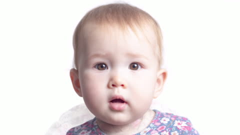 Face transformation of the little girl. Face of the infant baby seven monthes old smoothly transforms into the face of the same baby of one year old Face transformation of the little girl. Face of the infant baby seven monthes old smoothly transforms into the face of the same baby of one year old morphing stock videos & royalty-free footage