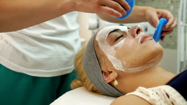 Face treatment video
