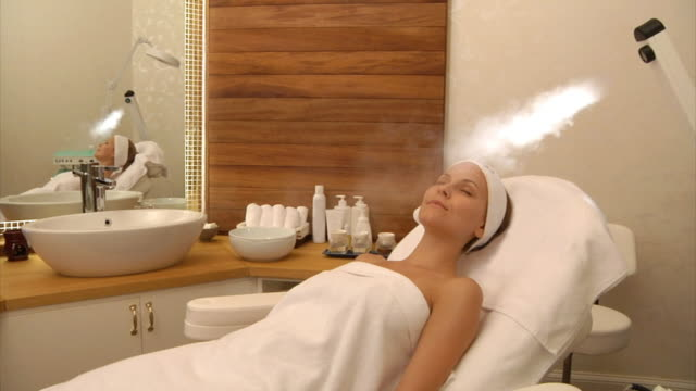 Facial Beauty Treatment with Steam video