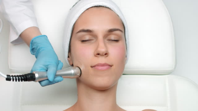 Facial electroporation procedure video
