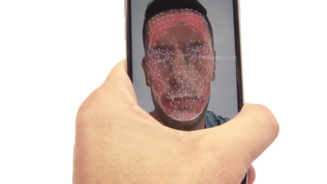 Facial recognition on a smartphone video
