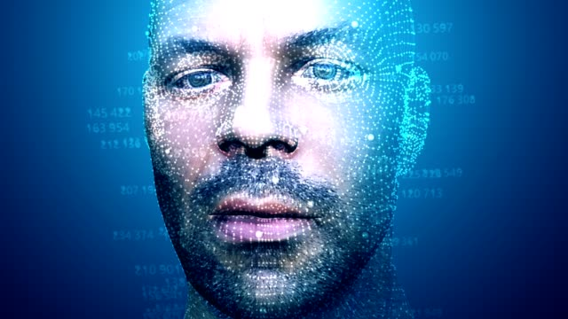 Facial Recognition System in motion Facial Recognition System in motion medical scanner stock videos & royalty-free footage