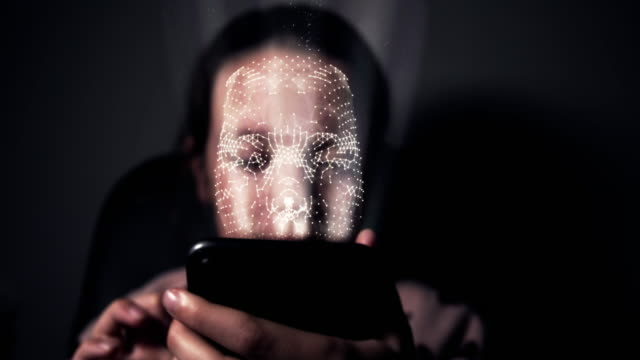 Facial recognition using a smart phone video