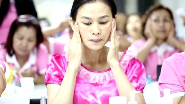 Facial skin care video