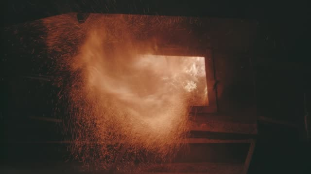 Factory Boiler House Clowsup Burn