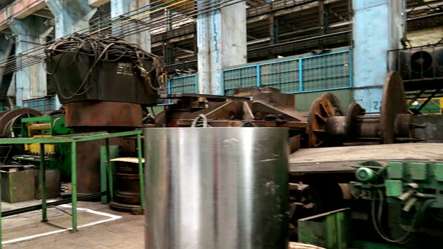 factory for the production of turbines video
