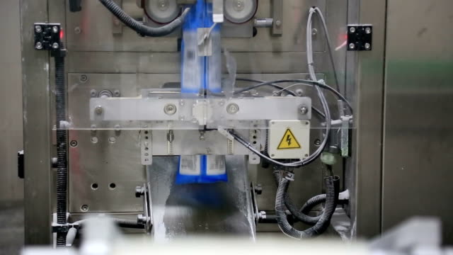 Factory packaging workshop production line