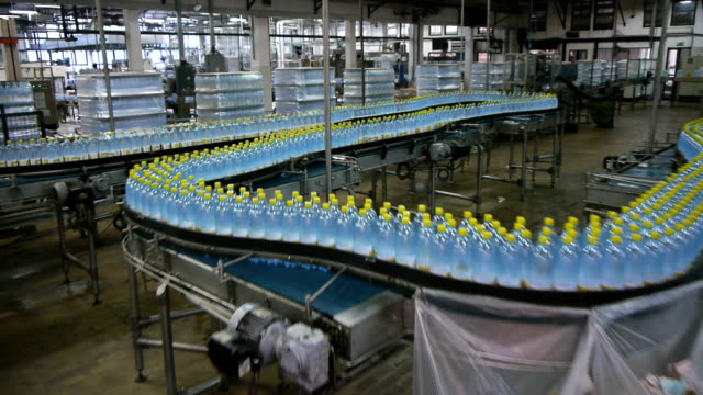 factory production line video